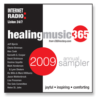 HealingMusic365 Sampler CD