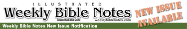 Weekly Bible Notes New Issue Notification
