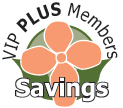 VIP PLUS savings